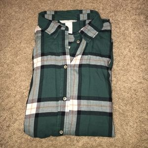 H&M thin flannel